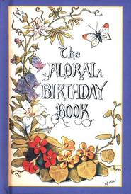 The Floral Birthday Book   -