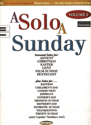 A Solo A Sunday, Volume 2   -
