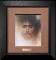 Forgiven, By His Stripes We are Healed Framed Print  -     By: Russ Docken