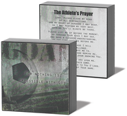 Athlete Prayer Soccer Plaque  -