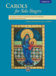 Carols for Solo Singers, Medium Low Book & CD    -