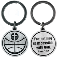 For Nothing is Impossible Basketball and Cross Keyring  -