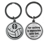 For Nothing is Impossible Volleyball and Cross Keyring  -