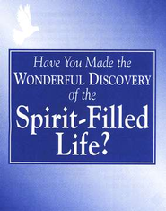 The Spirit-Filled Life, pack of 25 tracts   -     By: Bill Bright