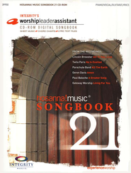 Hosanna Songbook 21 on CD-R0M   -