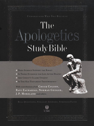 HCSB Apologetics Study Bible, Brown Bonded Leather   -