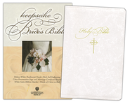 HCSB Bride's Bible White with Gold                                                         -
