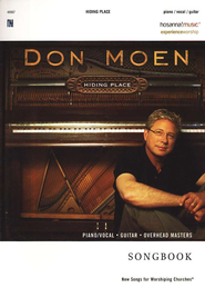 Hiding Place Songbook  -     By: Don Moen
