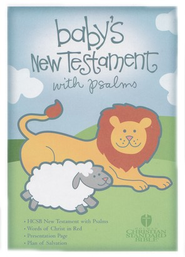 HCSB Baby's New Testament with Psalms - Blue   -
