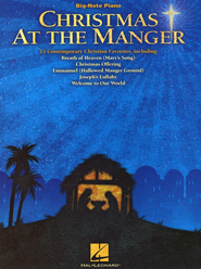 Christmas At the Manger (Big-Note Piano)   -