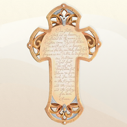 The Lord's Prayer Wall Cross, Legacy of Love  -     By: Kim Lawrence