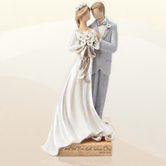 Legacy of Love Wedding Couple Figurine   -     By: Kim Lawrence