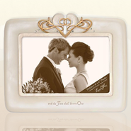 Wedding Photo Frame. Legacy of Love  -     By: Kim Lawrence