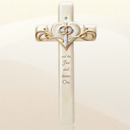 Wedding Wall Cross, Legacy of Love  -     By: Kim Lawrence