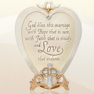 Wedding Blessing Plaque, Legacy of Love  -     By: Kim Lawrence