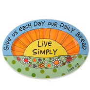 Live Simply Platter  -