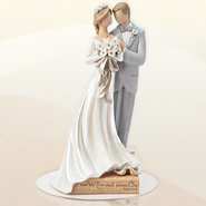 Wedding Couple Cake Topper, Legacy of Love  -              By: Kim Lawrence