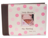 Little Miracle Photo Album, Pink  -
