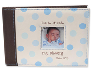Little Miracle Photo Album, Blue  -