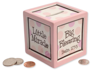 Little Miracle Bank, Pink  -