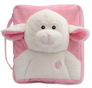 Lamb Plush Cover, Pink  -