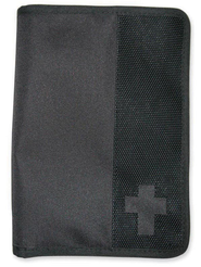 Canvas Wallet Cover, Black, Large  -