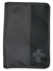 Canvas Wallet Cover, Black, Medium  -