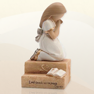 Praying Child, Girl Figurine  -