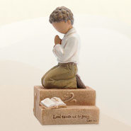 Praying Child, Boy Figurine  -