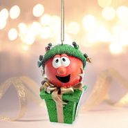 Bob Christmas Lights VeggieTales Ornament   -