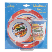Mighty Power Mealtime Set   -
