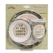 I'm In The Lord's Army Mealtime Set   -