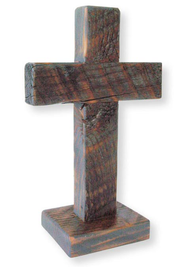 Standing Handcrafted Cross 8   -