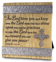 Lord Bless You Plaque  -