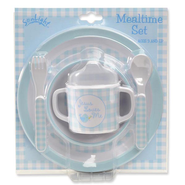 Jesus Loves Me Meal Set, Blue  -