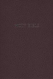 HCSB Super Giant Print Reference Bible, Imitation Leather, burgundy  -