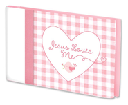 Jesus Love Me Photo Album, Pink  -