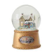 Thomas Kinkade Blessings of Christmas Water Globe  -              By: Thomas Kinkade