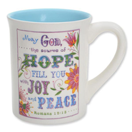 May God The Source of Hope, Mug   -