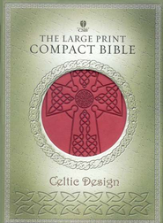 Holman Christian Standard Bible Celtic Bible, Crimson Simulated Leather  -