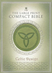 HCSB Celtic Bible, Simulated Leather, Green   -