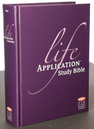 NKJV Life Application Study Bible, Hardcover   -