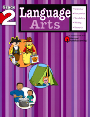Language Arts Flash Kids Workbook, Grade 2   -              By: Flash Kids Editors