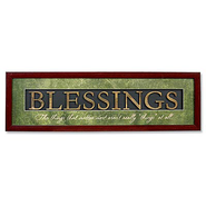 Blessings Plaque  -