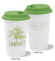 Embrace, Psalm 118:24, Mug with Cover  -