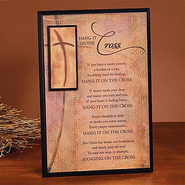 Hang It On The Cross Plaque  -