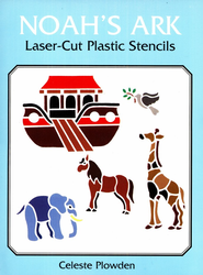 Noah's Ark Laser-Cut Plastic Stencils - Slightly Imperfect  -