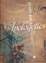 HCSB Apologetics Study Bible for Students, Paperback   -     Edited By: Sean McDowell