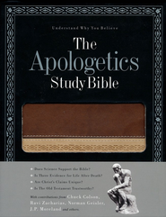 HCSB Apologetics Study Bible, Brown Duotone Simulated Leather  -