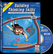 Building Thinking Skills Level 2 on CD-Rom   -